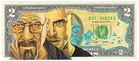 Breaking Bad Original Painting