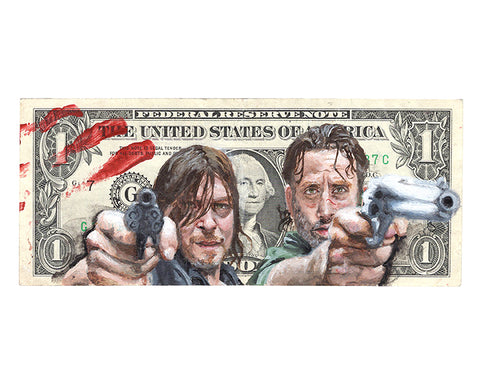 Rick and Darryl Print