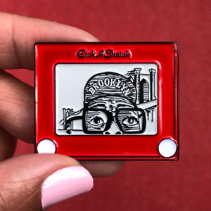 Brooklyn Etch Pin