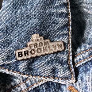 From Brooklyn Enamel pin