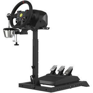 "Next Level Racing Wheel Stand Lite - 19"" Height x 19"" Width - Floor - Steel STAND FOR WHEEL PEDAL & SHIFTER"