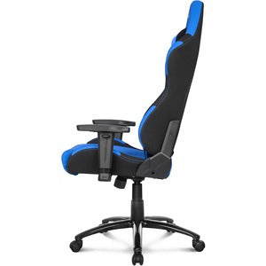 AKRACING Core Series EX Gaming Chair Blue Black - Blue, Black ERGO FABRIC 3DADJ ARMS 180 RECLINE