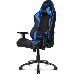 AKRACING Core Series SX Gaming Chair Blue - For Gaming - Blue ERGO PLEATHER 3DADJ ARMS 180 RECL