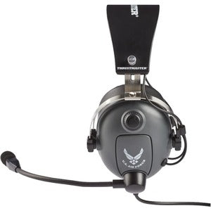 Thrustmaster T.Flight U.S. Air Force Edition - Stereo - Mini-phone - Wired - Over-the-head - Binaural - Circumaural - 9.84 ft Cable - Uni-directional, Noise Cancelling Microphone by Guillemot - eSportsfurnitureworld