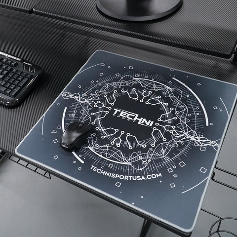 "Techni Sport A-PADCT-XL Colossal Circuit Gaming Mouse Pad 18"" x 18"" - eSportsfurnitureworld"