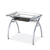 Image of Techni Sport RTA-00397B Gaming Desk - Arcadia, Clear - eSportsfurnitureworld