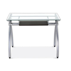 Techni Sport RTA-00397B Gaming Desk - Arcadia, Clear