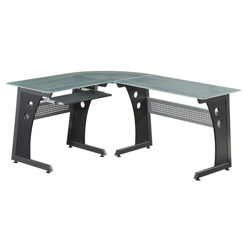 Techni Sport RTA-3803 Gaming Desk - Envidia, Graphite - eSportsfurnitureworld