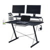 Image of Techni Sport RTA-TS200 Multi-Functional Carbon Gaming Desk - eSportsfurnitureworld