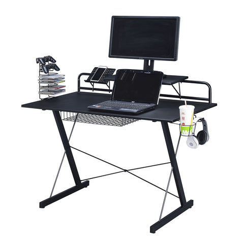 Techni Sport RTA-TS200 Multi-Functional Carbon Gaming Desk - eSportsfurnitureworld
