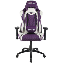 Techni Sport TS-52 High Back Racer Style Video Gaming Chair, Purple