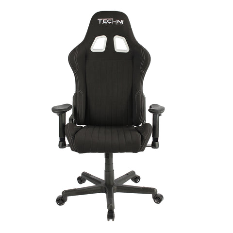 Techni Sport TS-F44 High Back Racer Style Video Gaming Chair, Black - eSportsfurnitureworld
