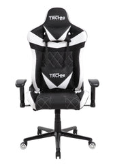 Techni Sport TS-XL1 Ergonomic High Back Racer Style Video Gaming Chair, White