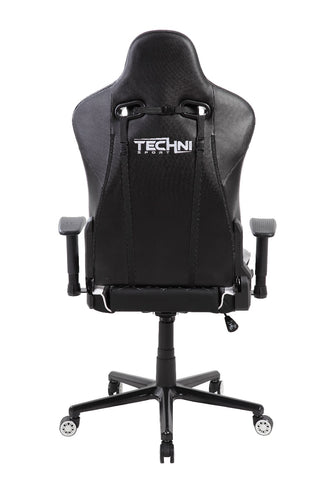 Techni Sport TS-XL1 Ergonomic High Back Racer Style Video Gaming Chair, White - eSportsfurnitureworld