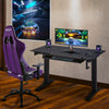 Image of Techni Sport RTA-3836SU Gaming Desk Sit To Stand - Elevate, Black - eSportsfurnitureworld