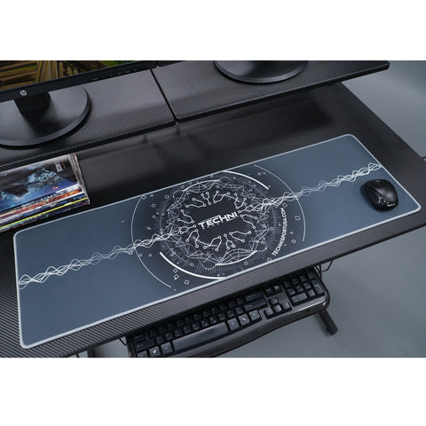 "Techni Sport A-PADCT-DP Runway Circuit Gaming Mouse Pad 36"" x 11.5"" - eSportsfurnitureworld"
