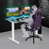 Image of Techni Sport RTA-3839SU Gaming Desk - Aria, Grey - eSportsfurnitureworld