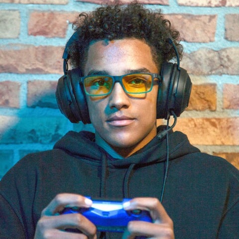 what are gaming blue light glasses