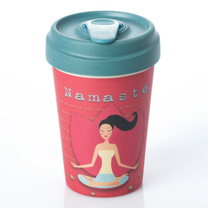 Yoga Love BambooCup by chic.mic