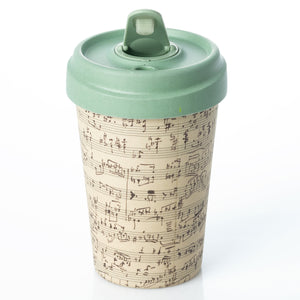 Music Notes BambooCup