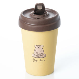 Yoga Bear BambooCup
