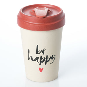 Happy Calligraphy BambooCup by chic.mic