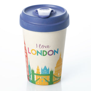 London Skyline BambooCup