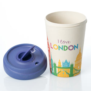 London Skyline BambooCup by chic.mic
