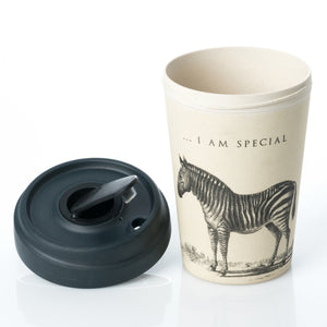 Special Zebra BambooCup