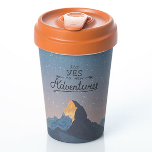 Mountain Adventure BambooCup by chic.mic