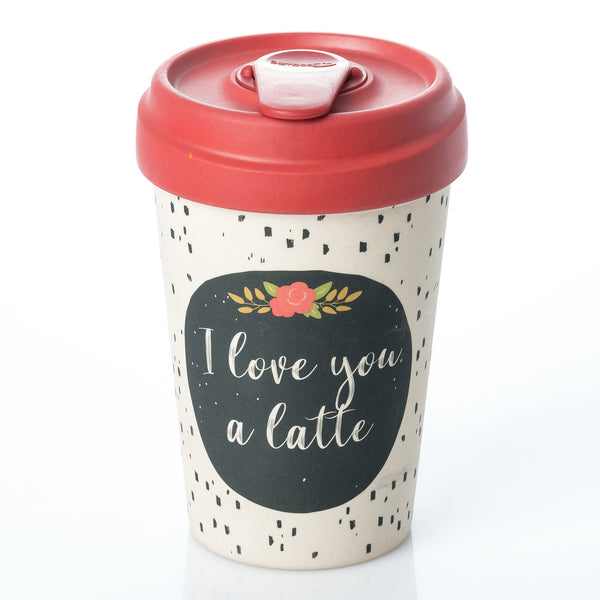 Love You Latte BambooCup