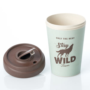 Stay Wild BambooCup
