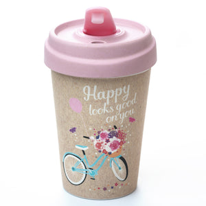 Happy Looks Good BambooCup by chic.mic