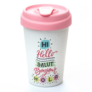 Hello Hello BambooCup by chic.mic