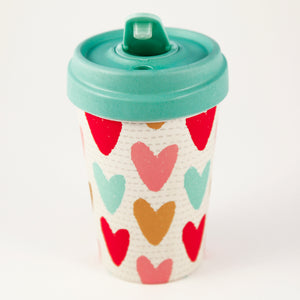 Happy Hearts BambooCup by chic.mic