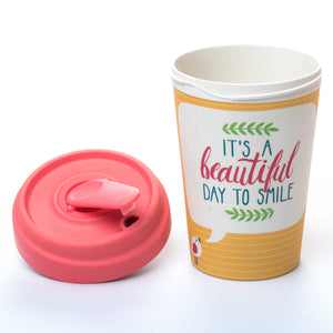 Beautiful Smile BambooCup by chic.mic