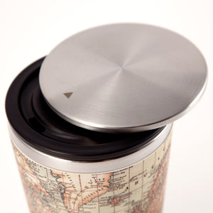SlideCup: Antique Map