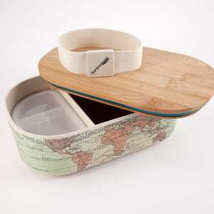 Deluxe Lunchbox: World Map