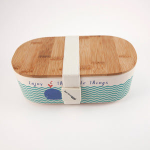 Deluxe Lunchbox: Little Things Whale