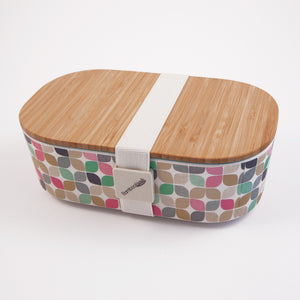 Deluxe Lunchbox: Bright Modern Pattern