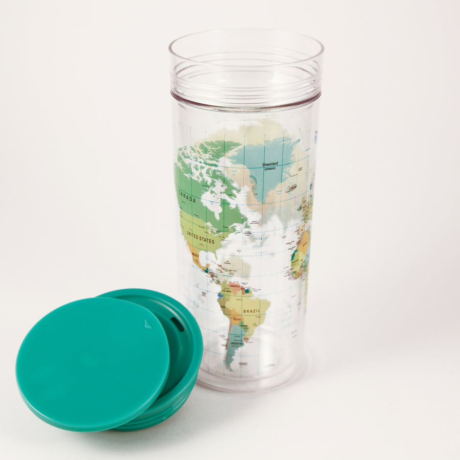SlideCup Crystal: World Map