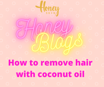 How To Remove Hair With Coconut Oil