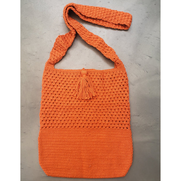 Crochet Hobo Bag