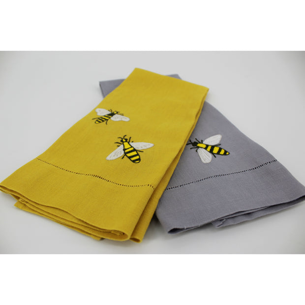 Buzzing Bees Tea Towel