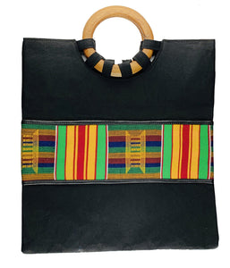 Kente Tote bag - Medium - Bags - Ama Select