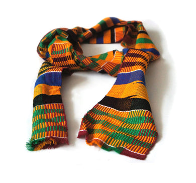 Kente Scarf - Edwene Asa - Bow Tie Set - Ama Select