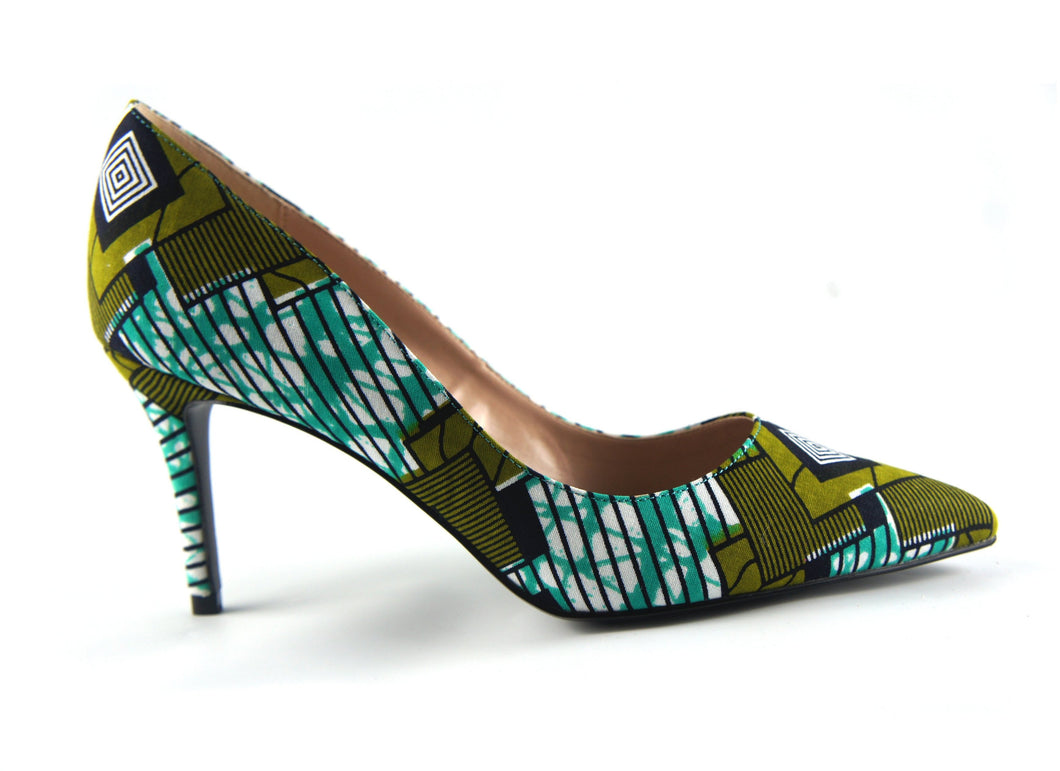 Ankara African print shoes - Mitex Holland - footwear - Ama Select