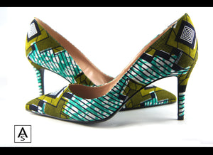 Ankara African print shoes - Mitex Holland