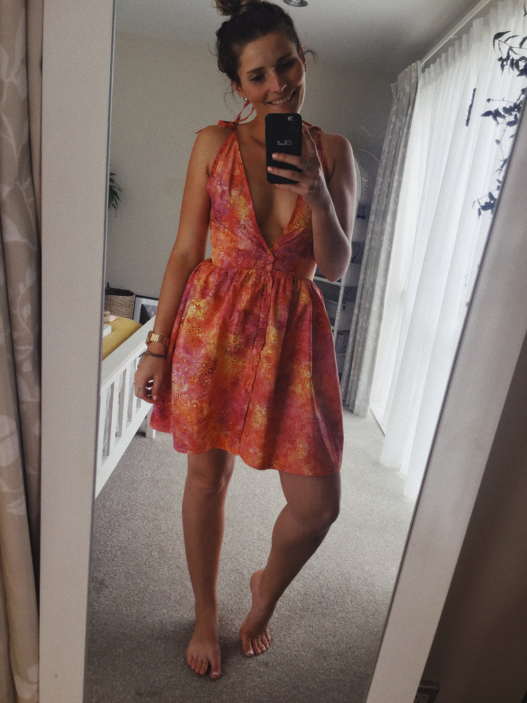 SECOND HAND FLORENCE DRESS - SIZE 8