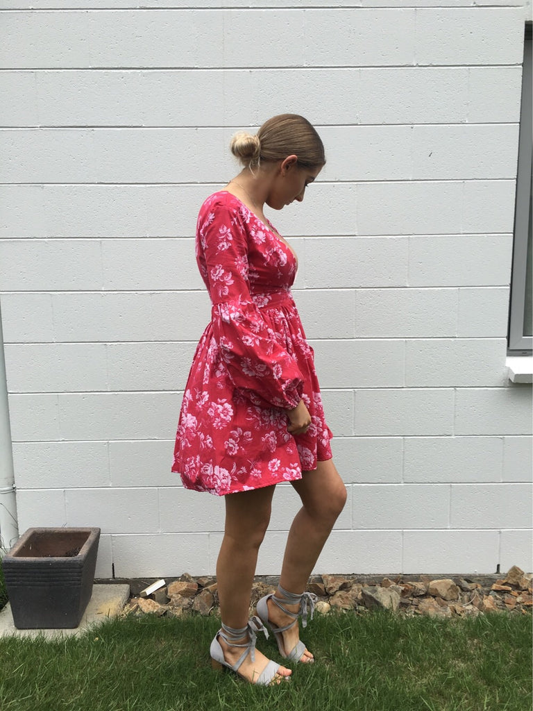 EX RENTAL BLOOM DRESS - SIZE 8/10